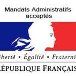 acceptation des mandats administratifs