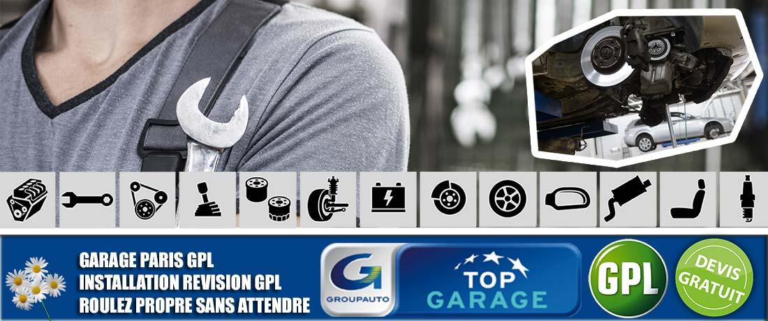 Atelier mécanique GPL TOP GARAGE